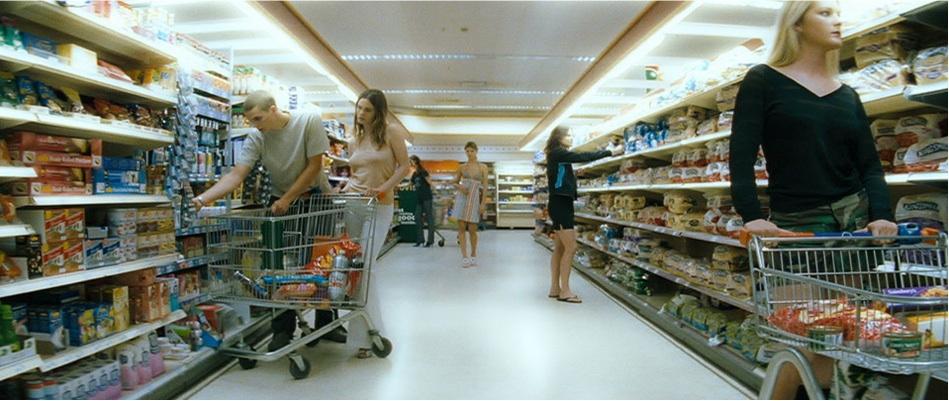 Teen women in the movie cashback arterton