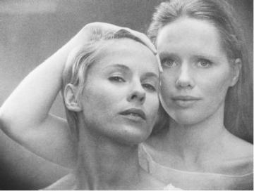 Bibi Andersson and Liv Ullmann, in 'Persona'